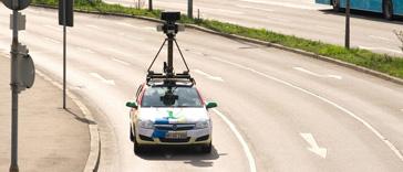 So sieht das Streetview-Auto aus